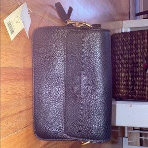 Tory Burch McGraw Cross Body Black Leather